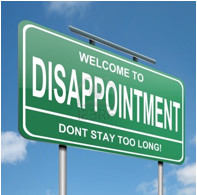 Disappointment Sign