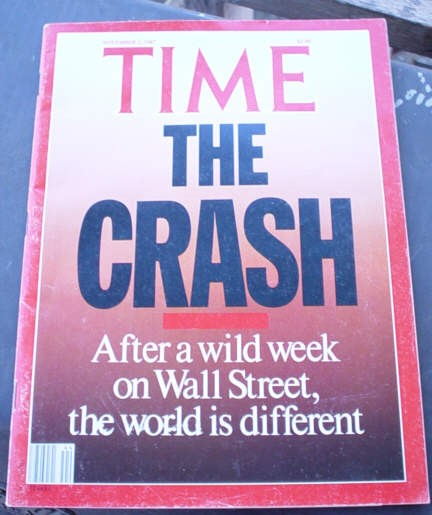 Time The Crash; after a wild week on wall street, the world is different