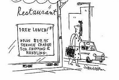 restaurant with free lunch
