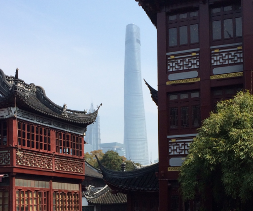 Chinese buildings
